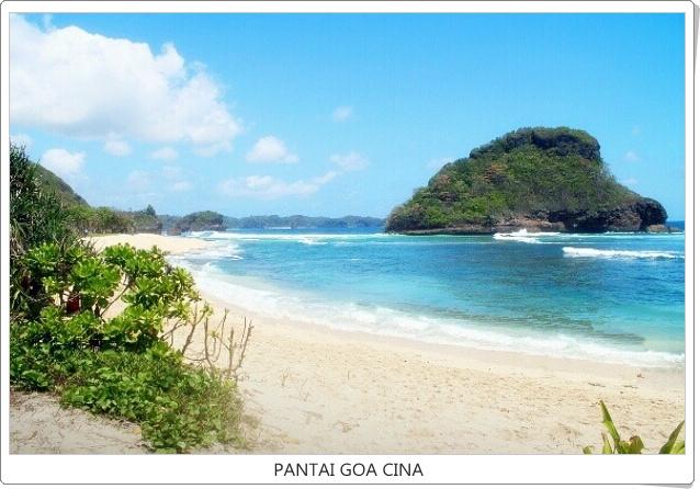 Wisata Pantai Goa Cina Malang Vita Tour Package